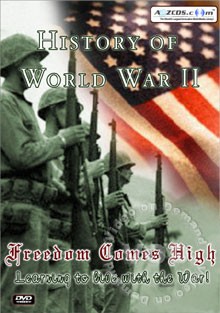 History Of World War II - Learning To Live With The War!   Disc 1 Box Cover