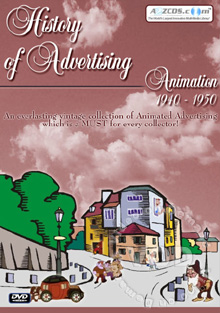 History Of Advertising Animation 1940-1950 Box Cover