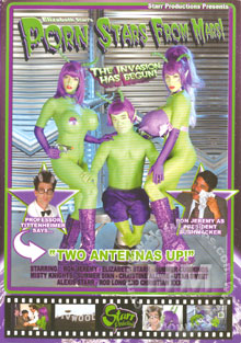 Porn Stars From Mars! Box Cover