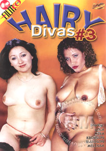 Hairy Divas #3 Box Cover
