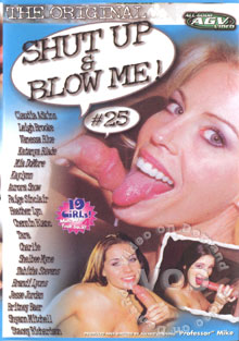 Shut Up and Blow Me! 25 Box Cover