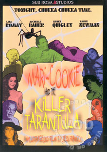 Mari-Cookie And The Killer Tarantula Box Cover