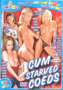 Cum Starved Coeds Box Cover