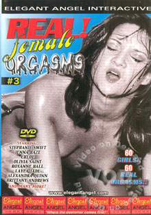 Real Female Orgasms #3 Box Cover