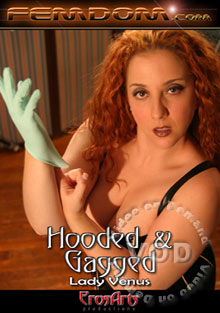 Hooded and Gagged - Lady Venus Box Cover
