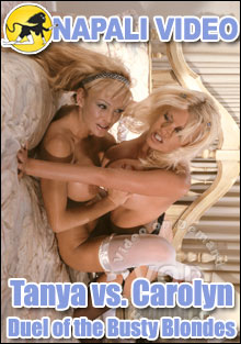 Duel Of The Busty Blondes - Tanya vs. Carolyn Box Cover