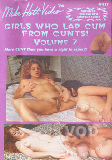 girls who lap cum from cunts