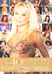 Top 40 Adult Stars Collection Box Cover