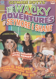 The Wacky Adventures Of Seymore & Shane Box Cover
