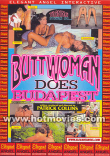 Buttwoman Does Budapest Box Cover