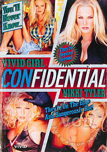 Vivid Girl Confidential - Nikki Tyler Box Cover