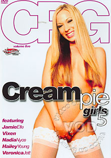 Cream Pie Girls 5 Box Cover