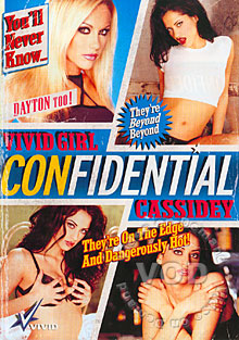 Vivid Girl Confidential Cassidey Box Cover