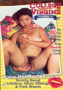 College Video Virgins v.6: Sorority Sexual Initiations Box Cover