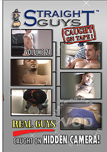 Straight Guys Caught On Tape! Volume 21 Box Cover