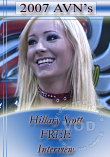 2007 AVN Interview - Hillary Scott Box Cover