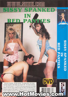 Sissy Spanked in Red Panties Box Cover