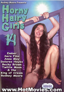 Horny Hairy Girls 14 Box Cover