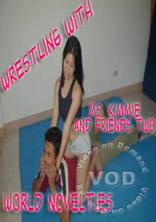 Wrestling with Ms. Kimmie & Friends 2 Box Cover
