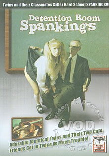 Detention Room Spankings Box Cover