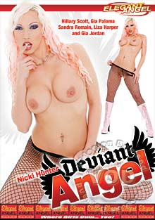Nicki Hunter - Deviant Angel Box Cover