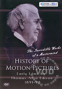 History Of Motion Pictures: Early by Thomas Alva Edison 1891-98 DVD 2