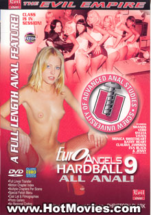 Euro Angels Hardball 9: All Anal Box Cover