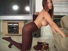 Nude jelena jensen stockings