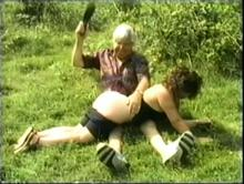 English Spanking Classic #22 - Mrs. Crabtree & The Hitchhiker Clip 2 00:43:20