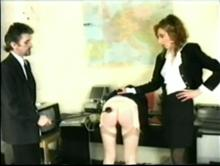 English Spanking Classic #24 - Big Bottoms Girls Caned Clip 2 00:42:00