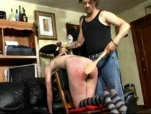 Credit Card Caning Clip 4 00:46:20