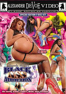 Black Ass Addiction 4 (Disc 2) Box Cover