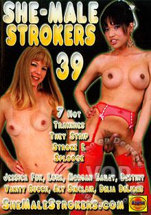 She-Male Strokers 39 Box Cover