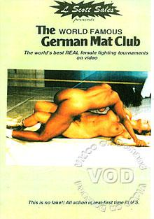 GM-2091-2092: The World Famous German Mat Club Wrestling Box Cover