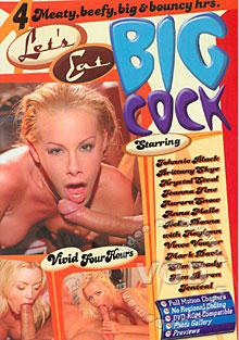 Let's Eat Big Cock Box Cover