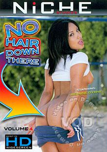 No Hair Down There Volume 4 Box Cover
