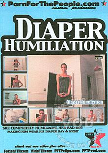 Diaper Humiliation Box Cover
