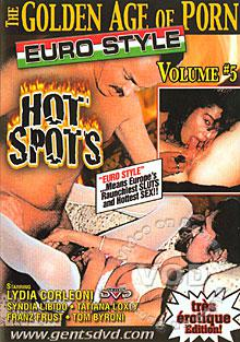 The Golden Age Of Porn - Euro Style Volume #5 Box Cover