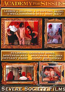 Academy For Sissies #3 - Shaving & Stripping, Being A Well-Groomed Sexy Sissy Slut Box Cover