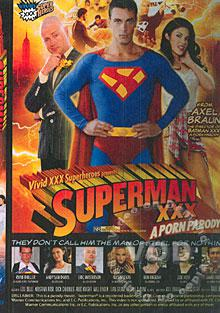 Superman XXX - A Porn Parody Box Cover
