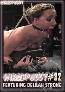 Wired Pussy 32 - Featuring Delilah Strong Box Cover