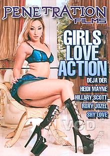 Girls Love Action Box Cover