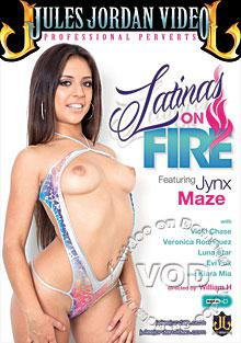 Latinas On Fire Box Cover