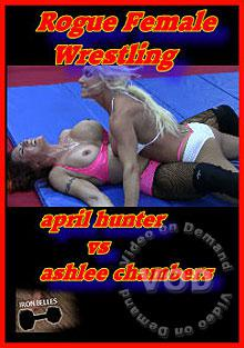 Rogue Female Wrestling - April Hunter Vs. Ashlee Chambers Box Cover