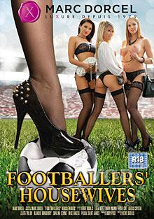 Footballers' Housewives (English Language) Box Cover