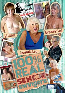 100% Real Senior Swingers Box Cover