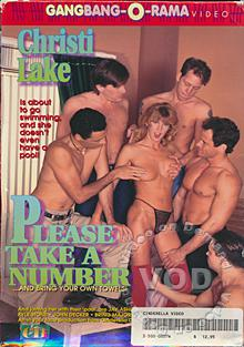 Please Take a Number Box Cover