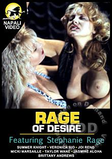 Rage Of Desire Box Cover