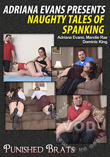 Adriana Evans Presents Naughty Tales Of Spanking Box Cover