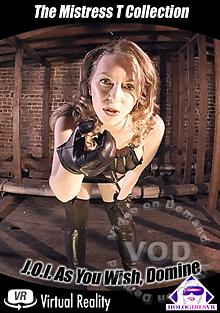 The Mistress T Collection J.O.I. - As You Wish, Domine Box Cover